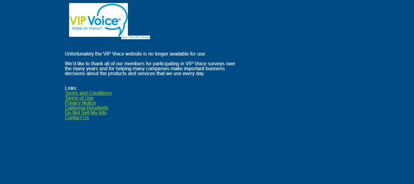 Legitimate online paid survey sites-Vip Voice