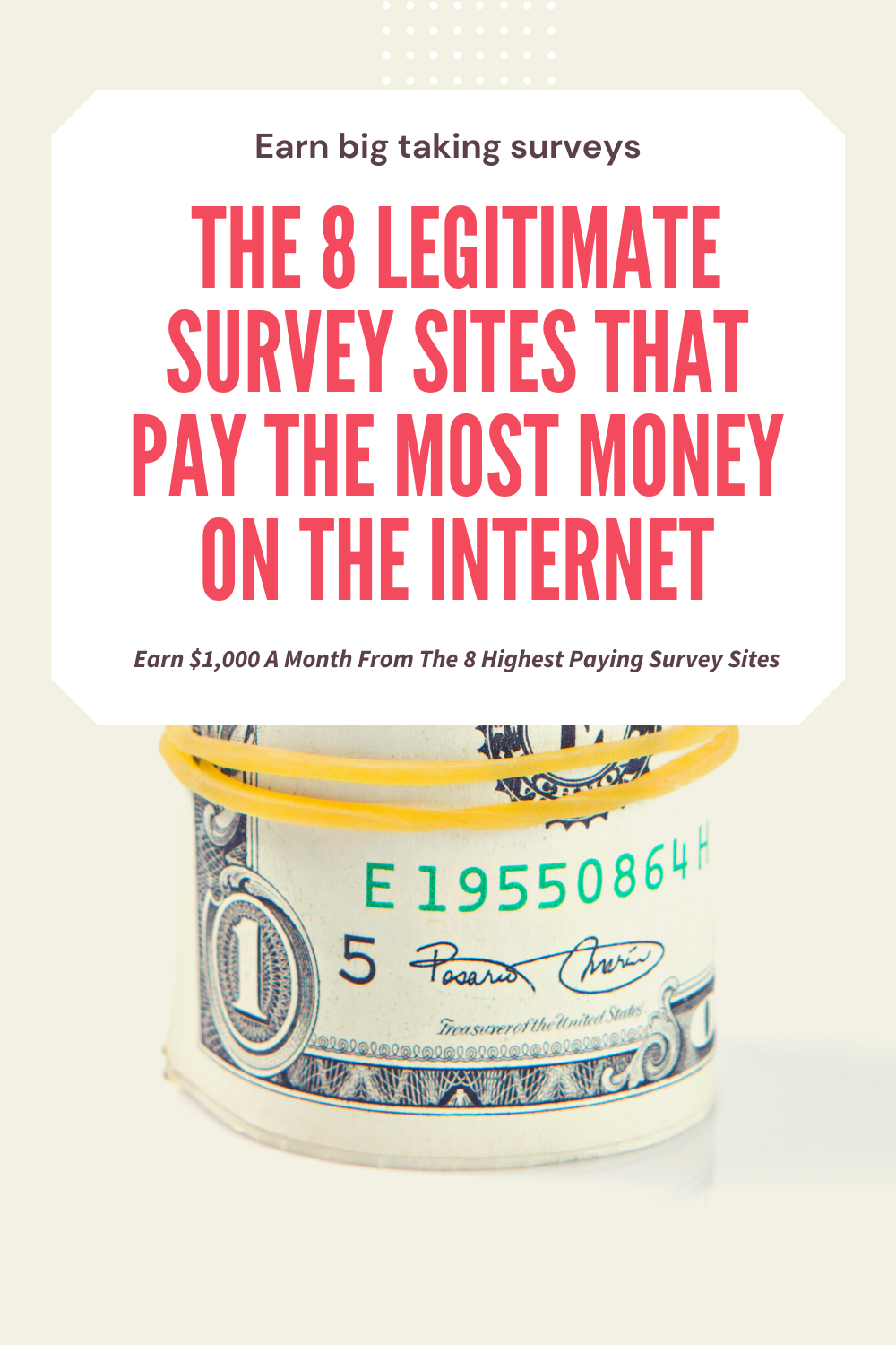 Legitimate survey sites that pay the most money on the internet