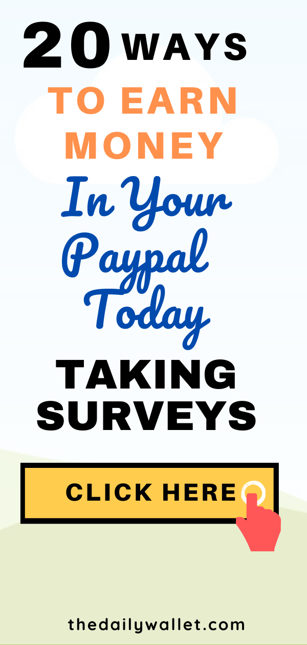 Online surveys that pay instantly